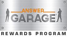 Answer Garage Rewards