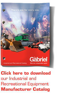 Click here to download our Industrial and Recreational Equipment Manufacturer Catalog
