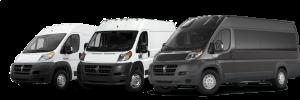 Dodge Ram ProMaster vans